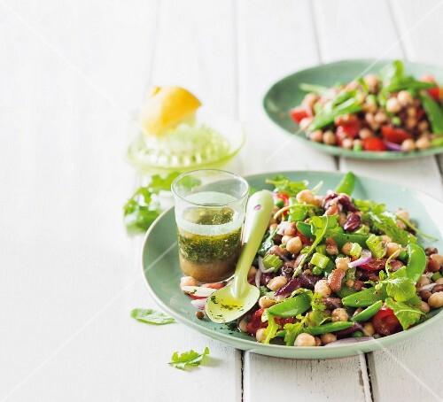 Legume salad