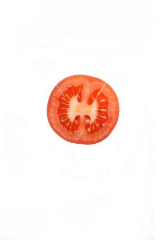 A tomato slice
