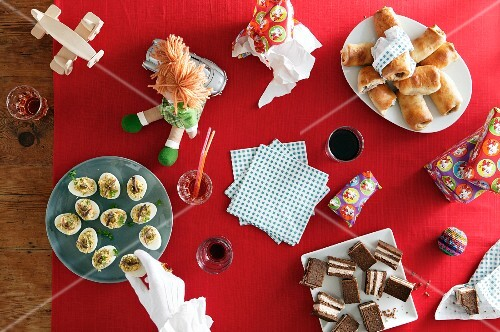Children's snacks for the eve of St. Nicholas Day