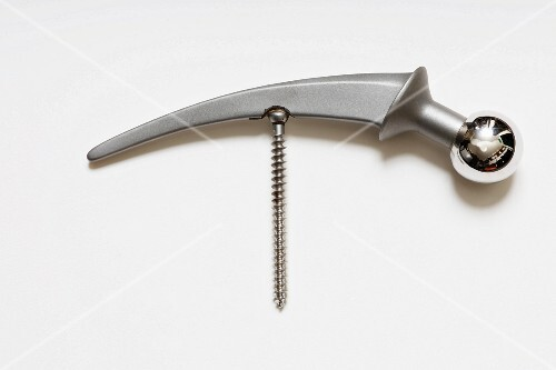 Corkscrew made from an artificial hip joint, 1970s, gifted by a doctor friend (Von Kunow Collection)