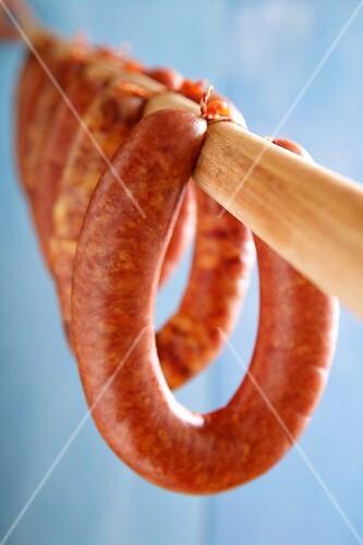 Rookworst (course ring sausage, Netherlands)