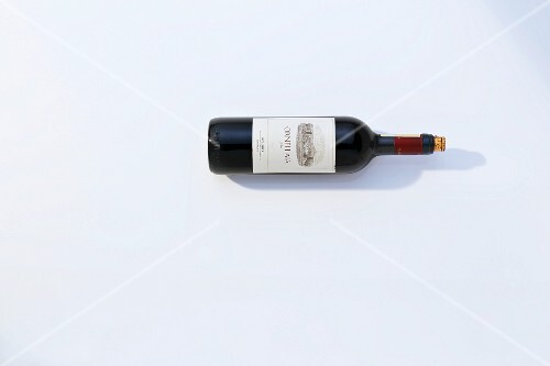 A bottle of red wine Ornellaia, 2011 vintage