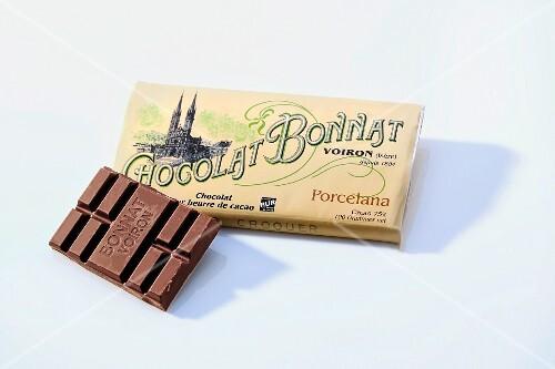 A bar of chocolate (Bonnat)
