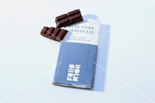 A bar of chocolate (Friis Holm)