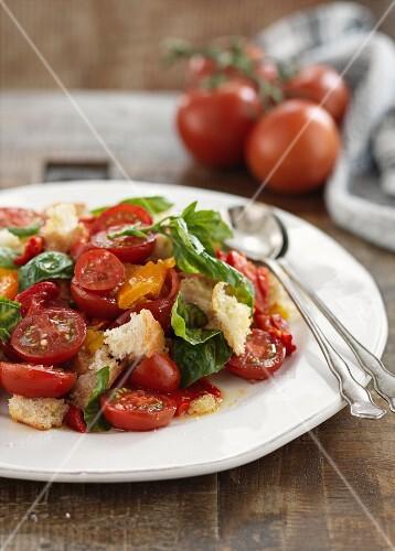 Panzanella (bread salad, Italy)