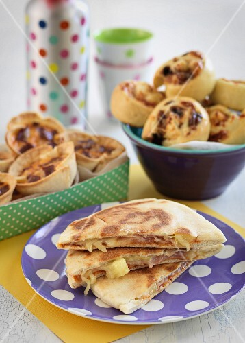 Pizza pockets and party pastries