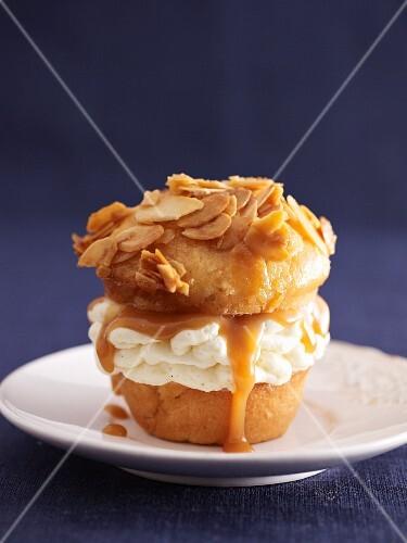 'Bee sting' cupcake