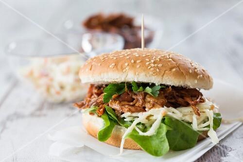 Pulled Pork-Burger