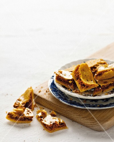 Honeycomb on a plate