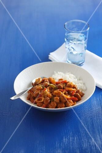 Meat balls in Zingara sauce