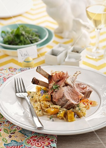 Rack of lamb for Easter