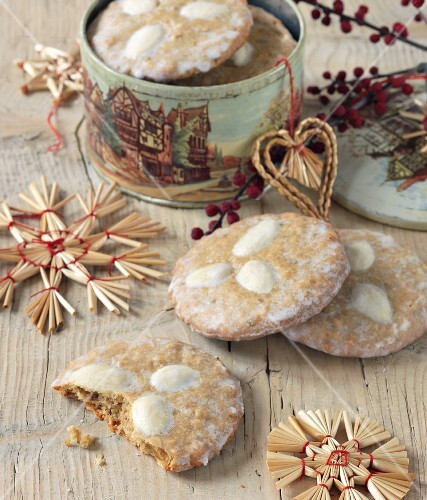 Elisen lebkuchen (gingerbread)