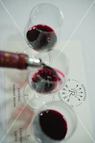 Primeur tasting of the 2014 vintage Domaines Baron de Rothschild, Carruades de Lafite, Duhart Milon & Chateau Lafite