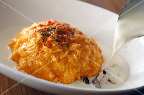 Spicy rice omelette (Japan)