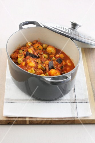 Provençal lamb stew