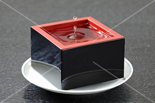 Masu Sake in a wooden box (Japan)