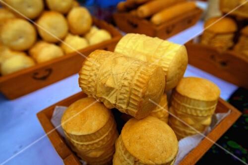 Golka cheese from Krakow, Poland, Europe