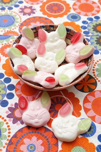 Easter gummy sweets