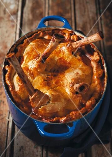 Leg of lamb pie