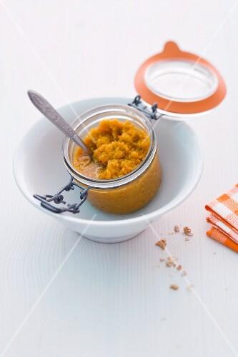 Pumpkin soup paste