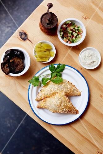 Israeli pastries: Bourekas