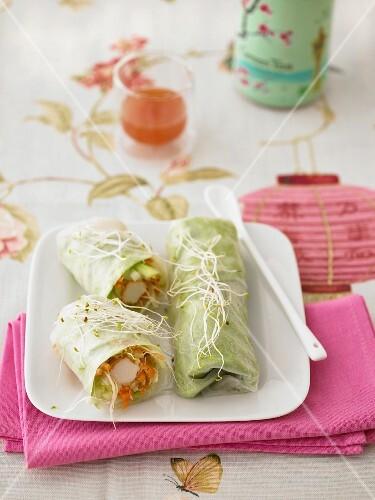 Oriental rolls