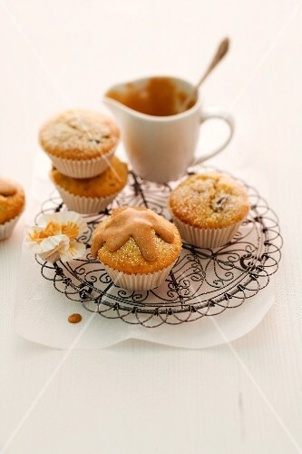 Baked apple muffins for Christmas