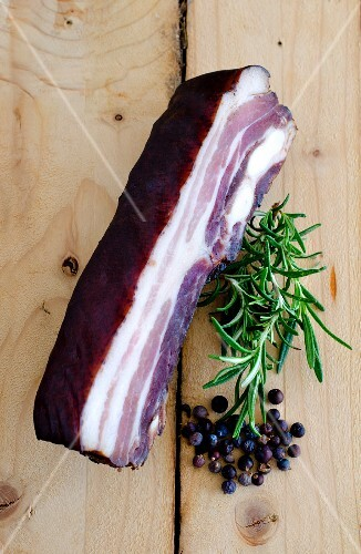 Smoked pork belly (Alsace, France)