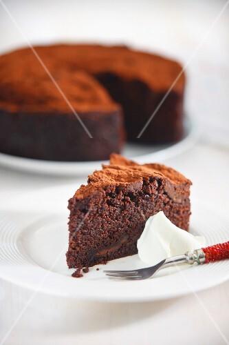 Chocolate and chilli cake