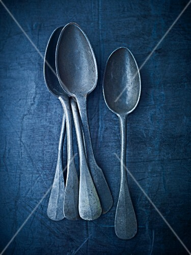 Antique spoons (seen from above)