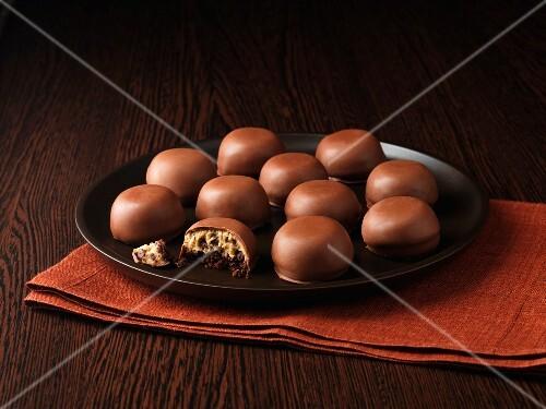 Chocolate tiramisu bites