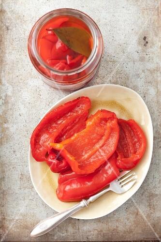 Preserved pepper