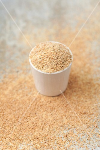 Ground flaxseed