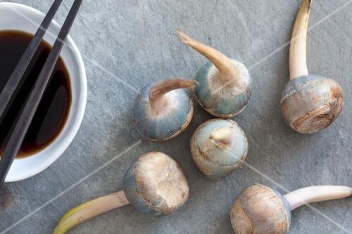 Japanese potatoes (kuwai)