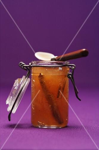 Birnen-Zimt-Marmelade