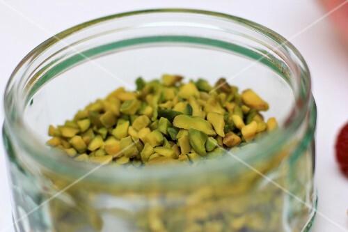 Chopped pistachio nuts