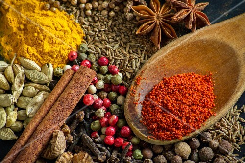 Various spices (close-up)