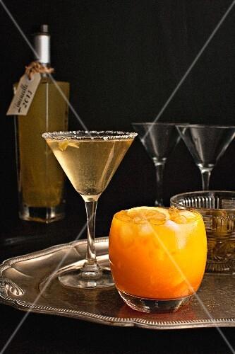 Limoncello cocktails