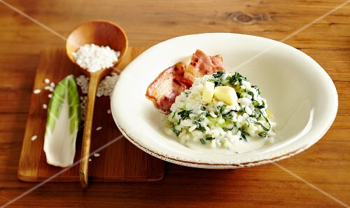 Risotto with chard