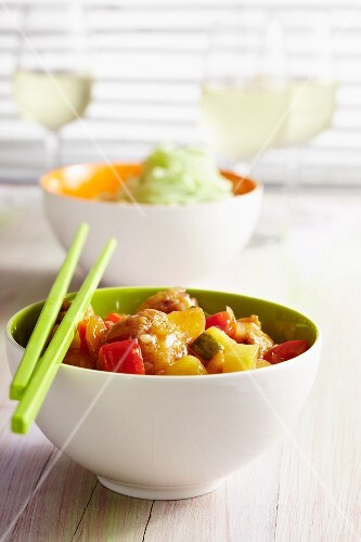 Sweet-and-sour chicken breast