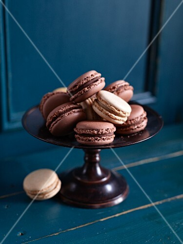 Macaroons filled with nougat cream