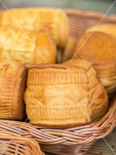 Oscypek (smoked cheese made of salted sheep's milk, Tatra Mountains, Poland)