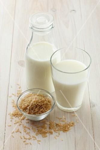 Rice milk and rice