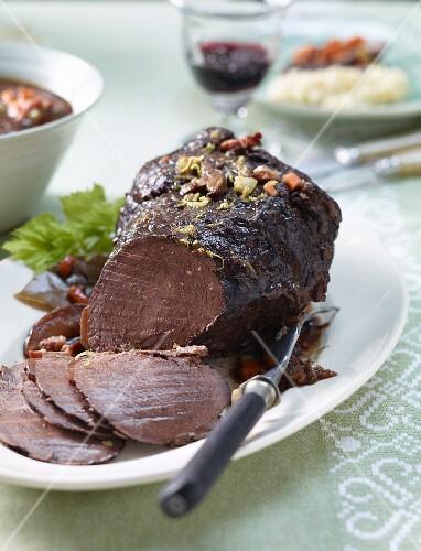 Tessin-style roast beef