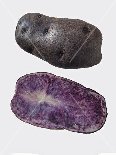 Blaue St. Galler potatoes