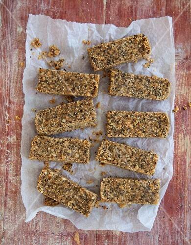 Vegan peanut bars