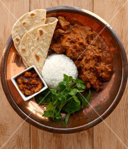Cape Malay lamb curry