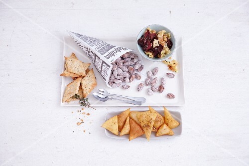 Homemade spicy snacks