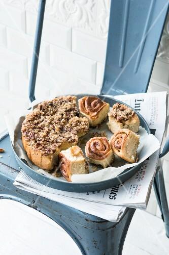 Pecan sticky buns (USA)