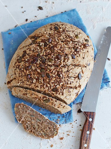 Multi-grain bread with spelt and mixed seeds